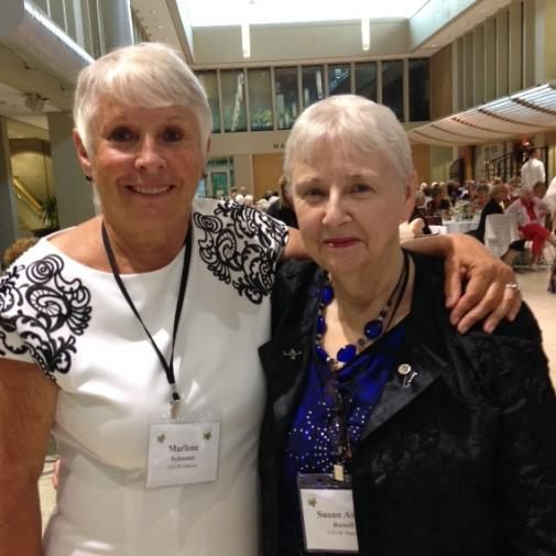 AGM St. Catherines - Marlene Sylvester and Susan Russell